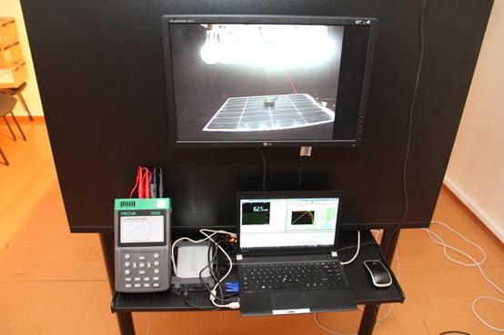 Solar panel testing